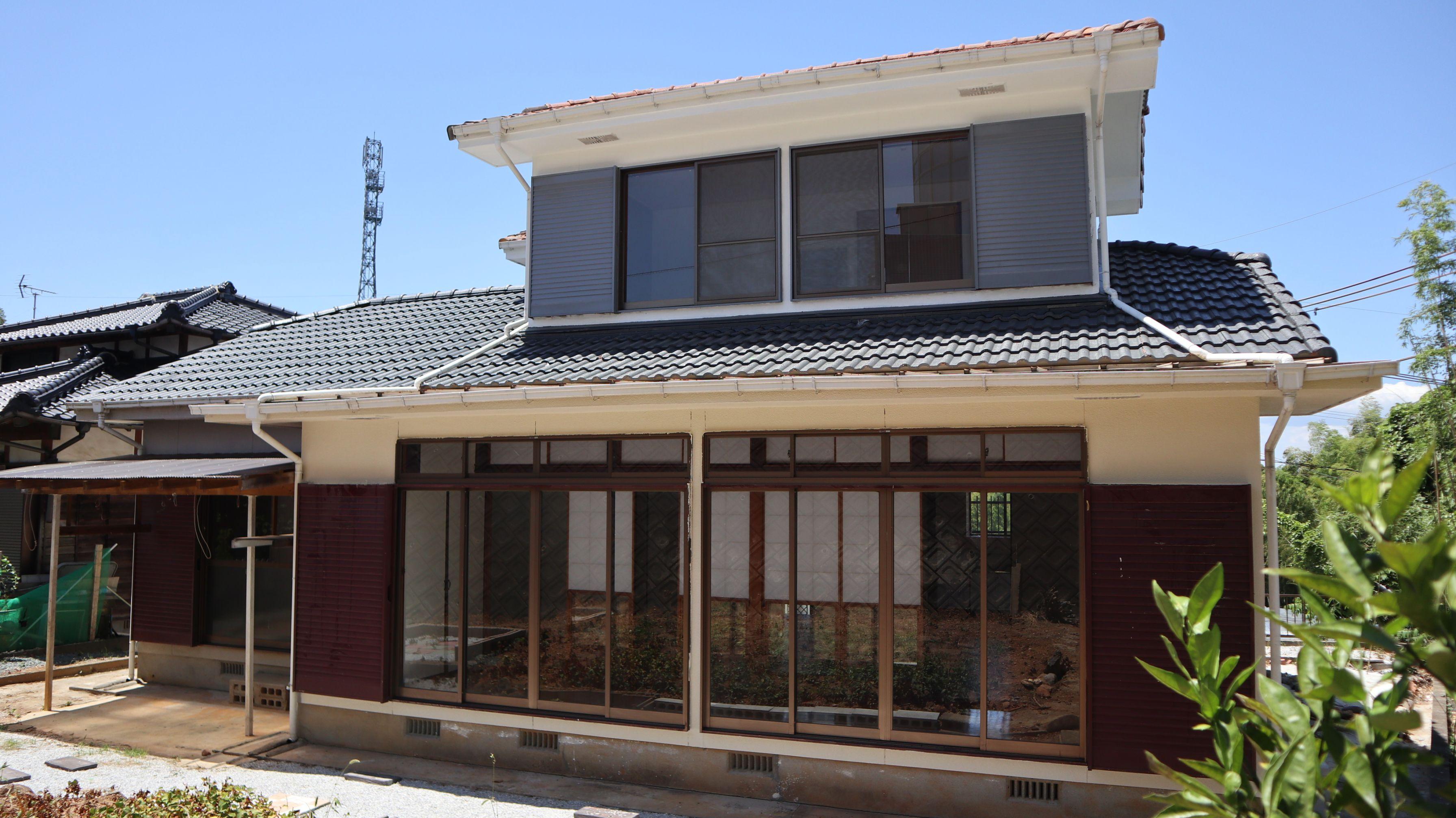 八女市吉田にあります約100坪の敷地が自由に使える外犬ちゃんも飼える物件です♫